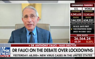 Dr. Fauci Says a New Lockdown is Not Necessary
