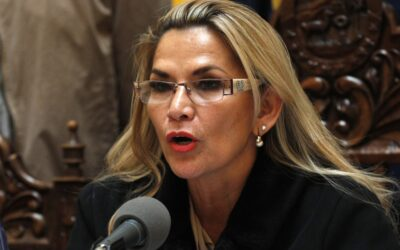 Bolivia's Interim President Jeanine Añez Tests Positive for COVID-19