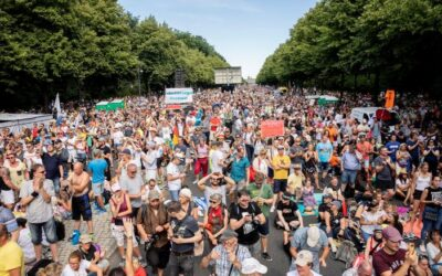 Berlin Anti-Coronavirus Measures Protests
